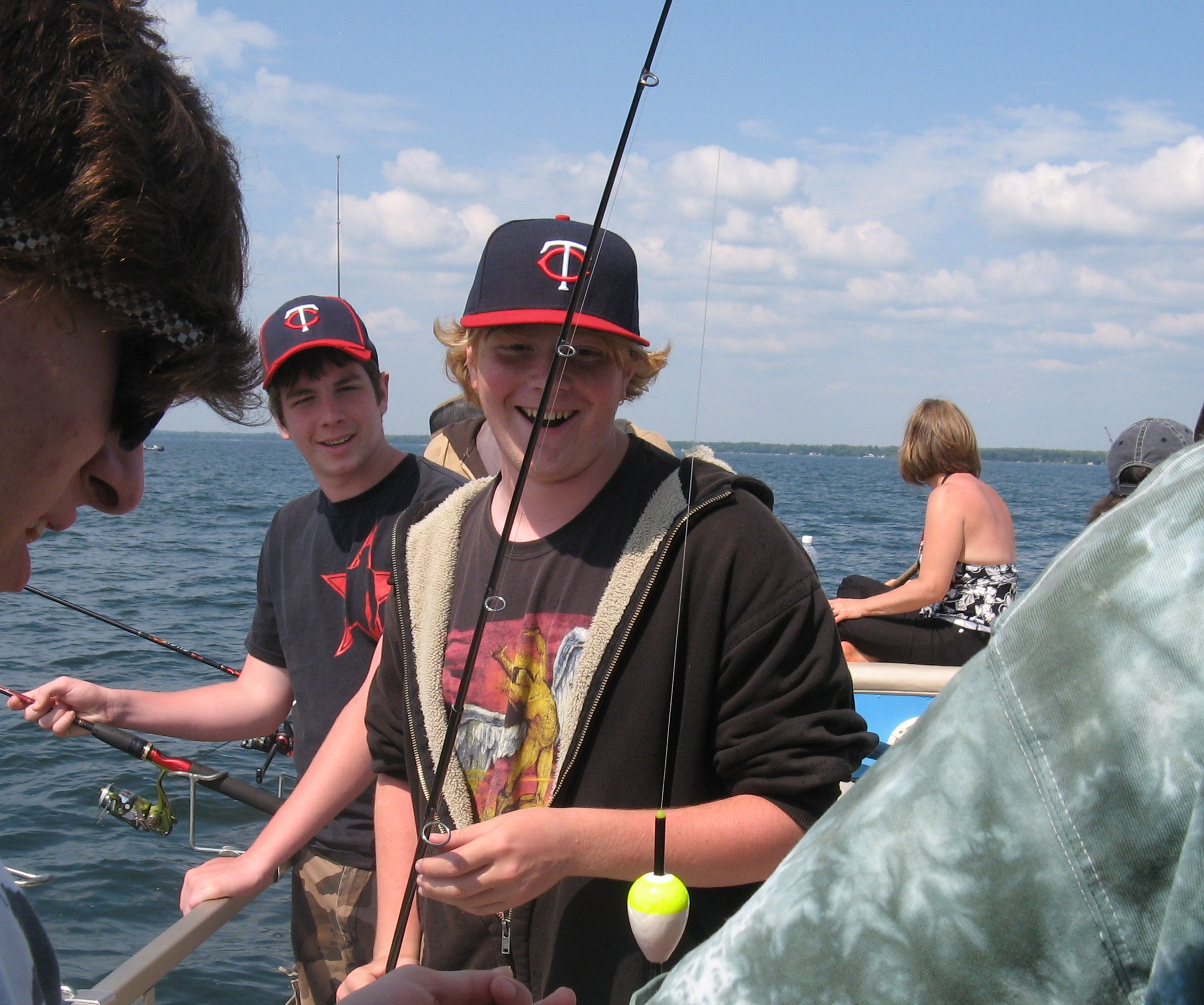 Road trip with granny granny smith and three grandsons for Mille lacs fishing
